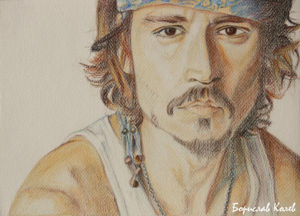 Johnny Depp by leanmecho